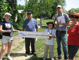 Support from the local community, Vilkovo, Ukraine